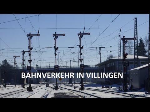 Bahnverkehr in Villingen (Schwarzw.) [BR 146, 611]