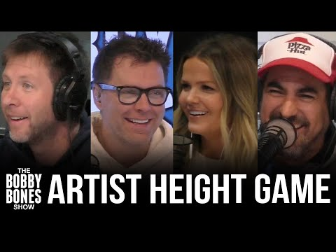 Over Or Under 6ft: The Bobby Bones Show Tries To Guess Country Artists' Height