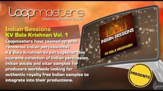 Indian Percussion Samples KV Bala Krishnan and Royalty Free Sounds by Loopmasters - World Samples