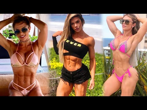 Roberta Zuniga Female Fitness Workout Motivation 2020
