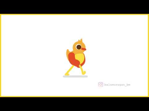 Walk Cycle Animation after effects||#motiongraphics