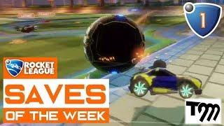 Rocket league - saves of the week 2018 #1