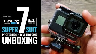 GoPro Hero 7 Black Super Suit Protection + Dive Housing Underwater Case Unboxing