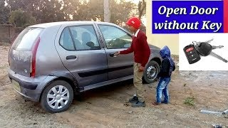 How to unlock car door without key    only 2 minutes   