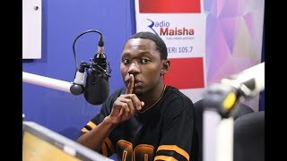 Kaa La Moto freestyles on Radio Maisha