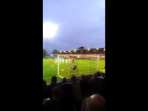 Go Ahead Eagles Cambuur goal Joey Suk 2012