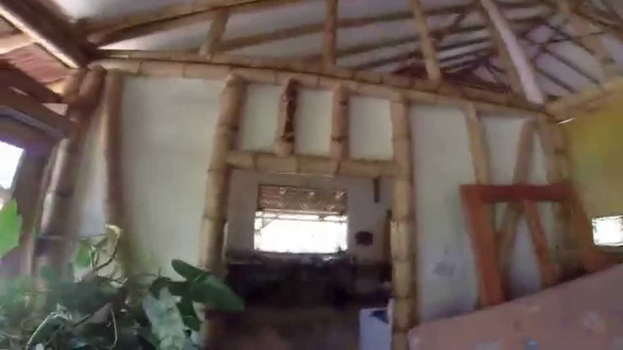 Amazing Bamboo And Cob Home Construction Costa Rica Youtube