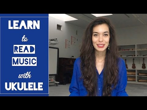 Learn to Read Music Notation with the Ukulele! Unit 1