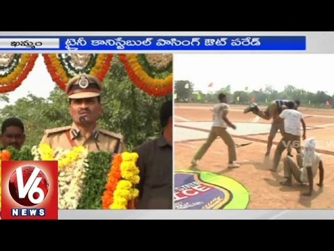 Passing Out Parade of trainee constables - Khammam (30-01-2015)