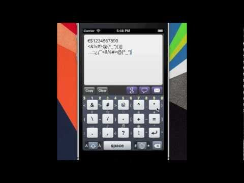 MovingKey : German Big Finger & Diacritic Keyboard App for Android & iPhone