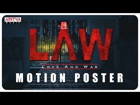 """L A W LOVE AND WAR"" Motion Poster  Kamal Kamaraju,Mouryani"