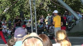 The Red Trouser Show at the Iowa State Fair 2012