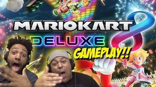 IT'S FINALLY HERE!!! [MARIO KART 8 DELUXE] [EARLY GAMEPLAY!]