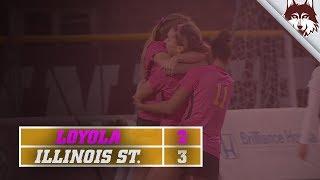Loyola vs. Illinois State | Women's Soccer Highlights