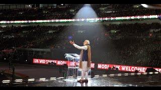 UK Welcomes Modi: Full function, organised at Wembley Stadium