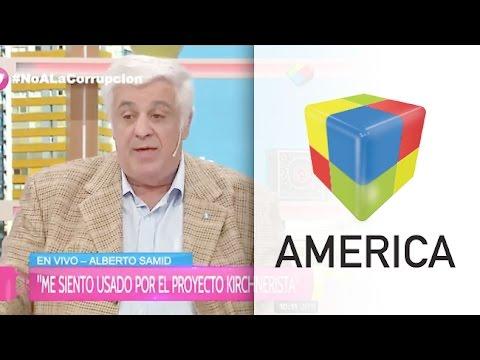 Alberto Samid: Me siento avergonzado y usado por el proyecto kirchnerista