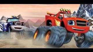 вспыш и чудо-машинки Гонки на вершинах Топ гонки #blaze #car