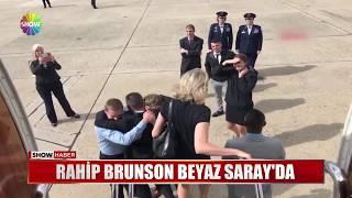 Rahip Brunson Beyaz Saray'da