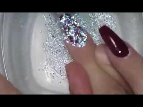 74af2c0dd Swarovski crystal pixie nail tutorial!!! - YouTube