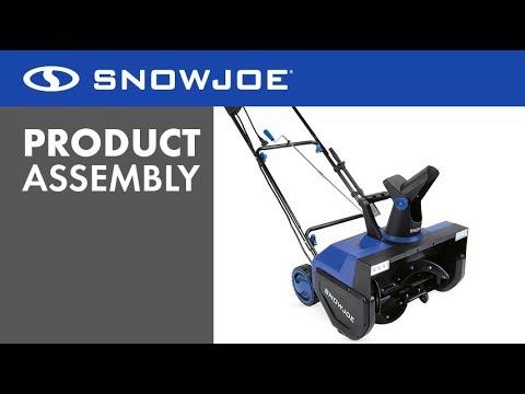 Sj627e Snow Joe Electric Snow Thrower Assembly Video Youtube