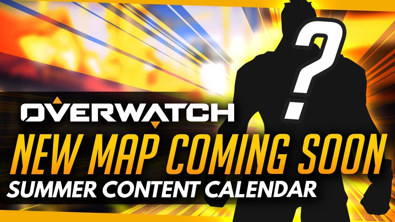 Overwatch Event Calendar.Overwatch New Map Coming Very Soon Next Hero Event Summer Content Calendar