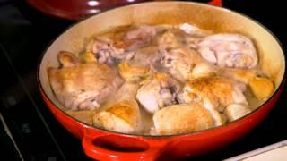 Belfast Telegraph: Creamy Garlic Chicken With Roasted Broccoli At The Little Pink Kitchen