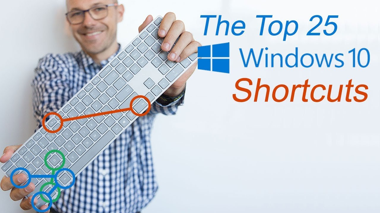 Top 25 Windows 10 Keyboard Shortcuts That Will Save You Time