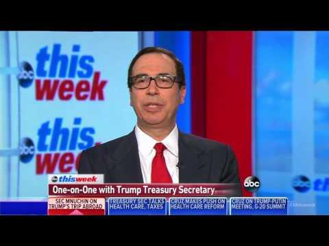 "Treasury Secretary Mnuchin on President Trump's ""Outstanding"" Foreign Trip"