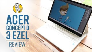 Acer ConceptD 3 Ezel Review