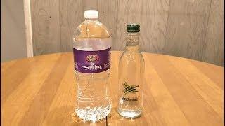 Jon Drinks Water #7850 Strathmore Sparkling Spring VS Western Family Spring Water