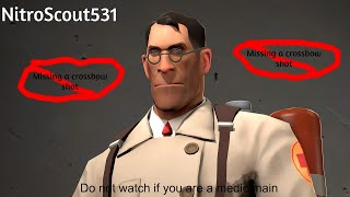 If I Miss A Crossbow Shot The Video Ends (Team Fortress 2)