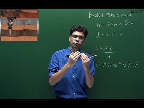 P16.1.2 Parallel Plate Capacitor (Hindi)