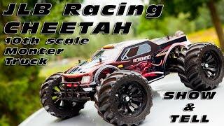 JLB Racing Cheetah! 1/10th Brushless Monster Truck - Show & Tell