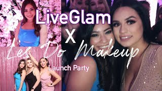 Les Do Makeup X LiveGlam Launch Party 2019 | MY FIRST VLOG! | IRISSA LARANE