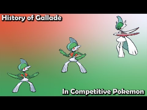 How GOOD Was Gallade ACTUALLY? - History Of Gallade In Competitive Pokemon (Gens 4-7)