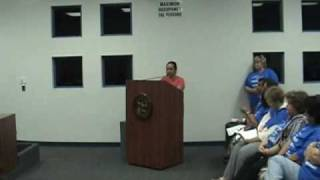 Parents Speak at Mountain View School Board meeting