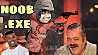 NOOB.EXE ft. MrCyberSquad | Pubg Mobile | Omega Gaming