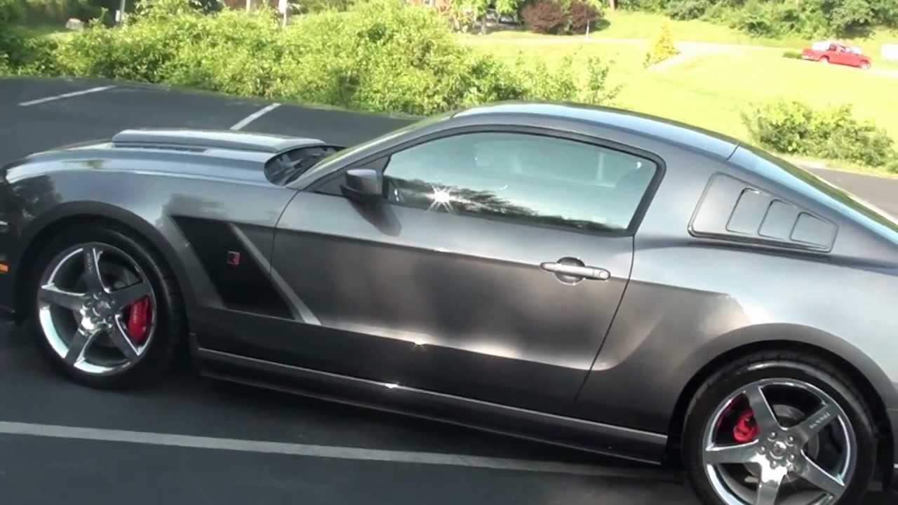 FOR SALE NEW 2013 FORD MUSTANG ROUSH STAGE 3!! STK# 30058 ...