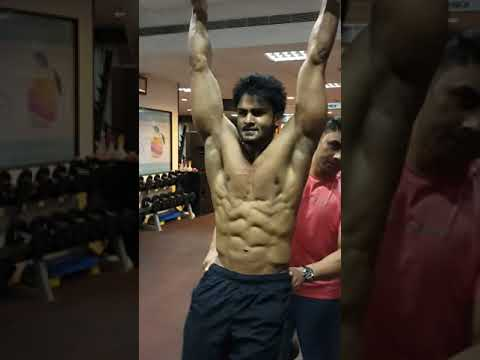 Sudheer Babu Six packs