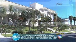 Entre na casa luxuosa do ex-lavrador que fez casamento de R$ 8 milhões
