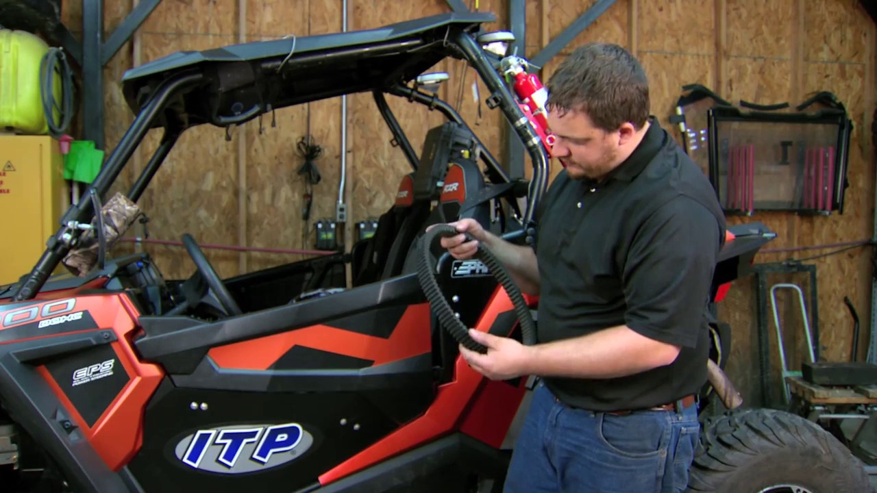 Polaris RZR XP900 and XP1000 Drive Belt Change | Ultimax