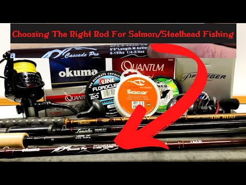 Salmon Fishing Rods {WHAT TO LOOK FOR} Fishing Rod Specs, Action, Power  Explained