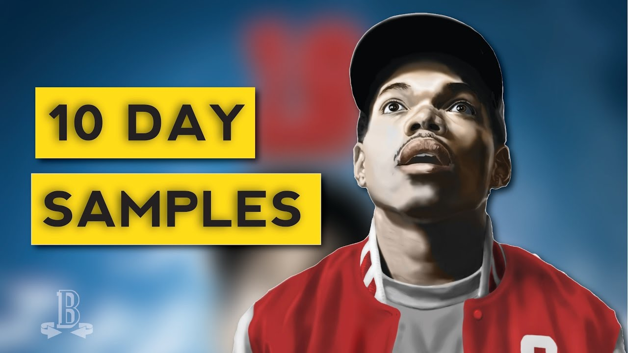 Chance coloring book samples - Sample Breakdown Chance The Rapper S 10 Day