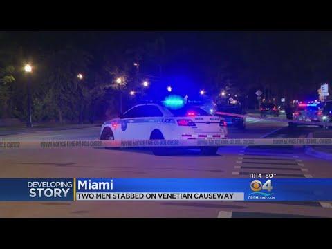 Police Investigating Stabbing Incident On Venetian Causeway