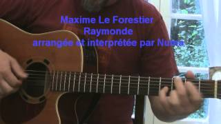 Reprise de Raymonde (Maxime Le forestier) à la guitare