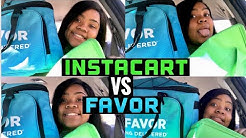 Making Money / WORKING FOR INSTACART VS. FAVOR (Houston,Texas)