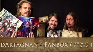 dArtagnan - Die Fanbox (Unboxing Video)