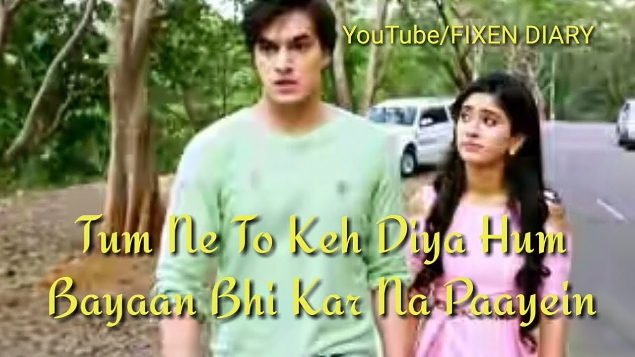 Kartik 👫Naira Hum Jaise Jee Rahe hai Heart touching Whatsapp status video  : Sad : Love : Romantic :