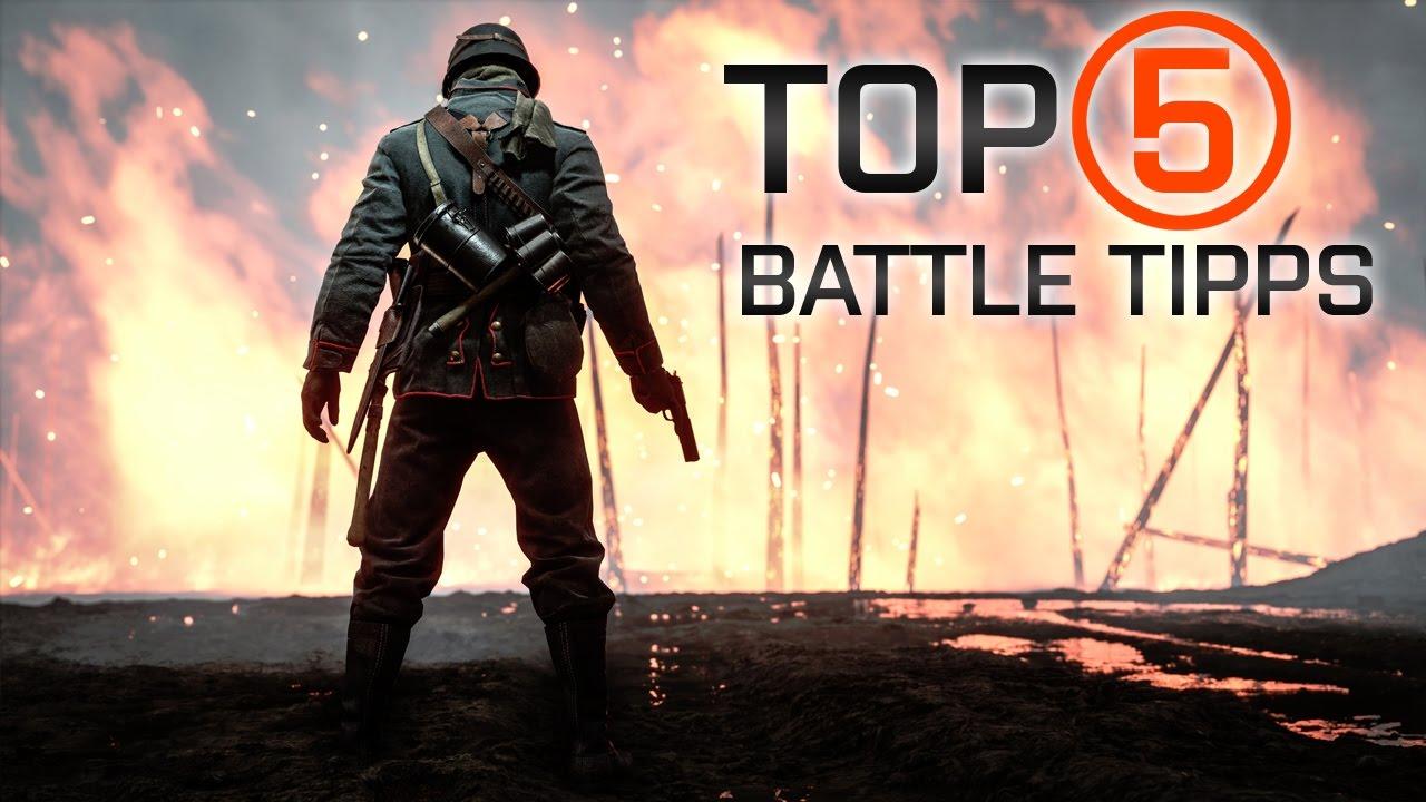 Battlefield 1 Tipps