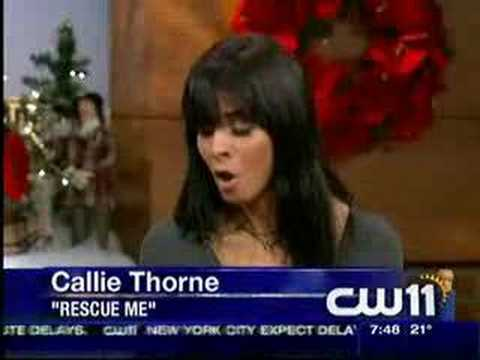 CW11  with Callie Thorne
